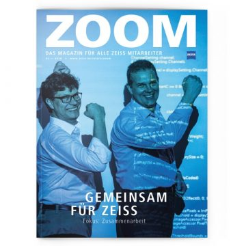 Cover des Zeiss Zoom Magazins