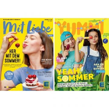 Cover vom Edeka Magazin Mit Liebe und Yummi