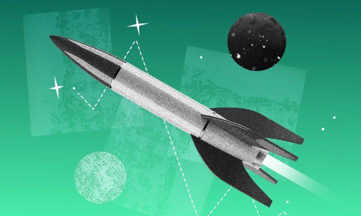 Rakete und Planeten Header Careers